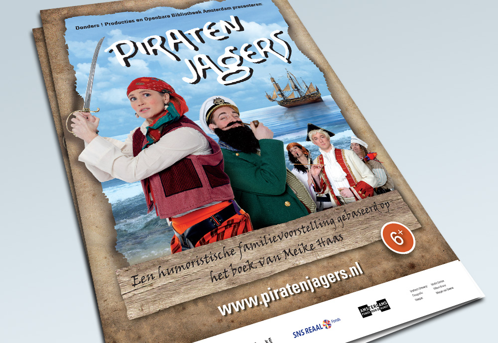 Poster Piratenjagers
